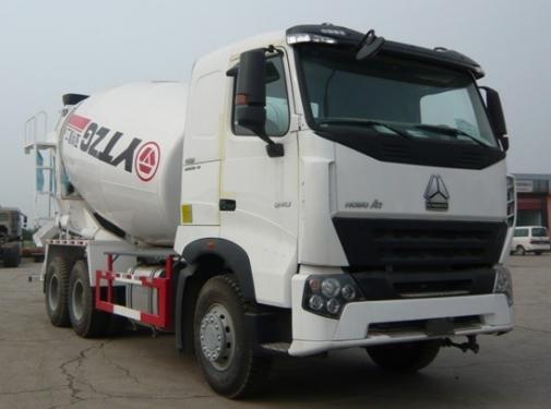 亚特重工TZ5257GJBZC4豪泺A7 12立方混凝土搅拌车