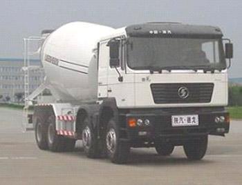 陕汽德龙F2000 8×4混凝土搅拌搅拌车