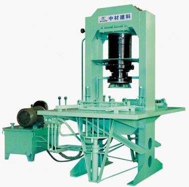 中材建科ZCY-200型液压彩砖机