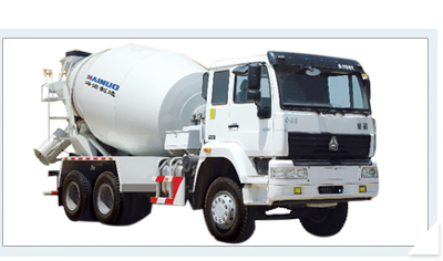 海诺7立HNJ5253GJBC混凝土搅拌运输车
