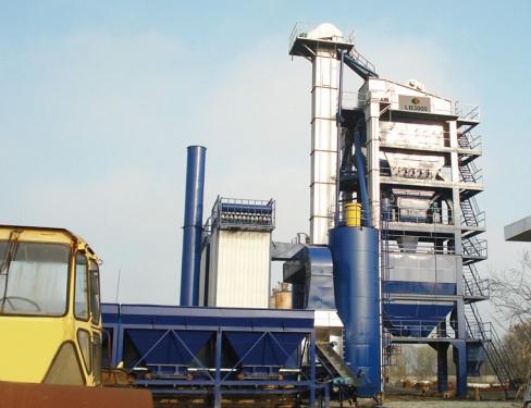 万德机械LB3000沥青搅拌设备