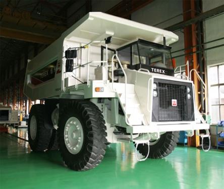 内蒙古北方股份TR50C煤斗型矿用自卸车