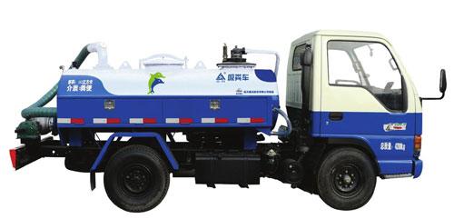 航天晨光CGJ5043GXE02(1.63m3)吸粪车