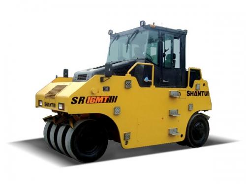 山推SR16MT轮胎压路机