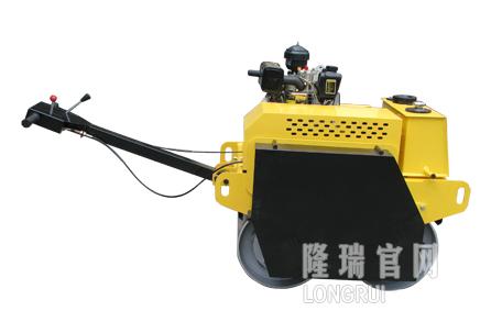 隆瑞机械LRY600S手扶双钢轮压路机