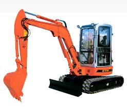 熔盛ZY35履带式挖掘机