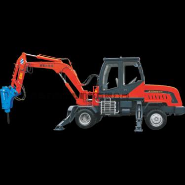 欣安远AWL8040轮式挖掘机