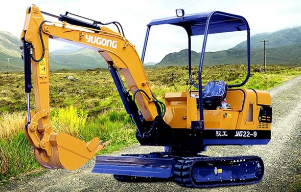 驭工YG22-9履带式小型液压挖掘机
