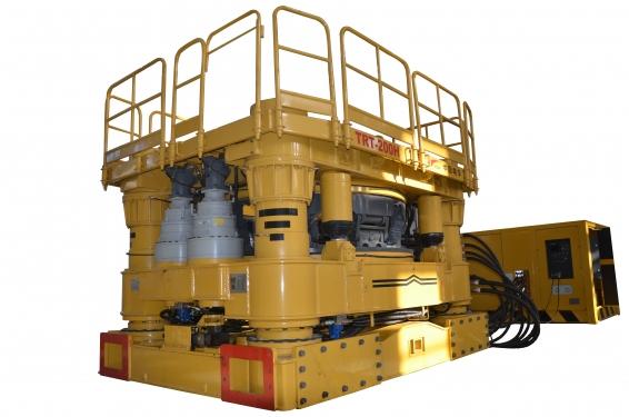 中车TRT-200H全回转全套管钻孔机全套管钻机