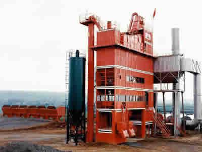 北京加隆4000型环保沥青搅拌设备
