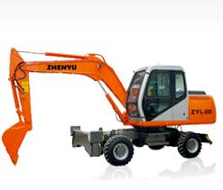 熔盛ZYL80轮式挖掘机