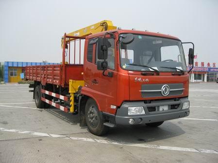厦工楚胜SMJ5163JSQDC3随车起重运输车