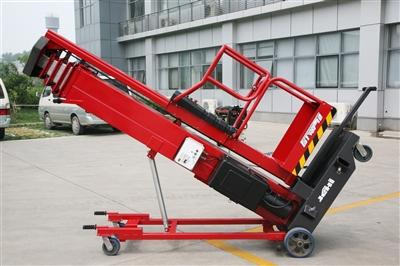 京城重工GTWY8/10/12/14电瓶车载剪叉式高空作业平台