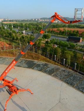 星邦重工GTSZ30蜘蛛式高空作业平台