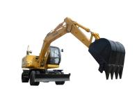 恒特HTL150轮式挖掘机
