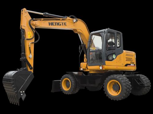 恒特ht95w轮式挖掘机