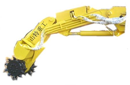 山特重工铣挖头掘进机