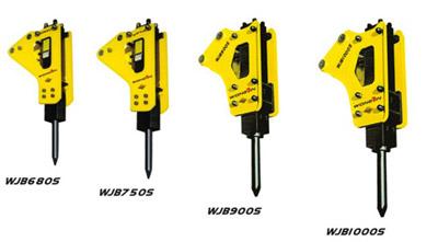 雄进WJB680S/WJB750S/WJB900S/WJB1000S三角型破碎锤