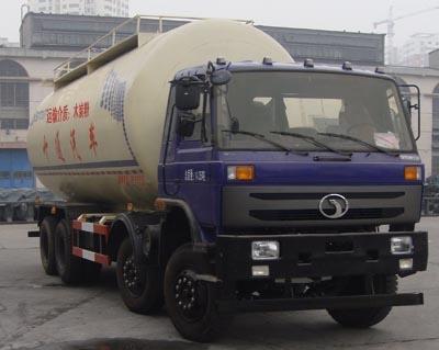 程力三环十通(国四)粉粒物料运输车