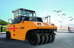 科泰重工KP306全液压轮胎压路机