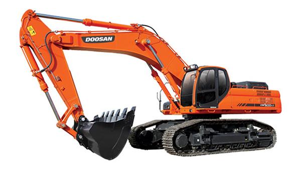 斗山DX500LC-G挖掘机