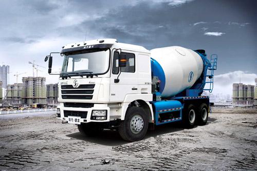 陕汽德龙F3000 6×4/F2000 6×4混凝土搅拌车