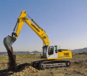 利勃海尔R934CLitronic履带式挖掘机