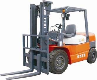 合力αⅡ系列4-5吨平衡重式内燃叉车