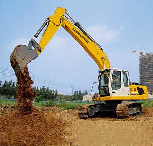 利勃海尔R916Litronic履带式挖掘机