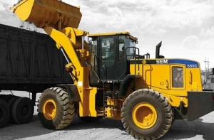 山工SEM669C轮式装载机