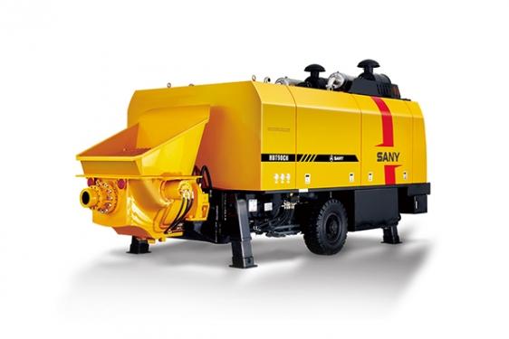 三一重工HBT9050CH-5M超高压系列拖泵