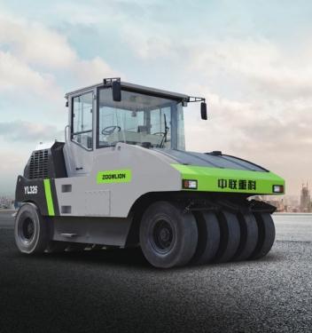 中聯重科YL330全液壓輪胎靜碾壓路機