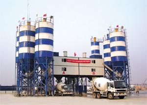 华通动力MODU150水泥混凝土搅拌站
