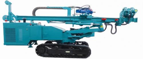 建研JD110B全液压履带式多功能钻机