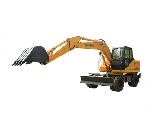 恒特HTL120轮式挖掘机