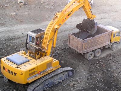 邦立CE1000-7反铲液压挖掘机