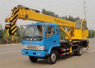 森源重工SMQ5101JQZ型汽车起重机