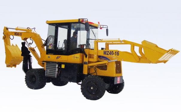 全工WZ40-16挖掘装载机