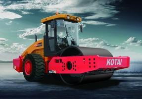科泰重工KS265D单钢轮压路机(双驱)