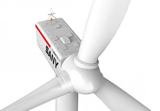 三一重工SE10020C高速永磁型风力发电机组