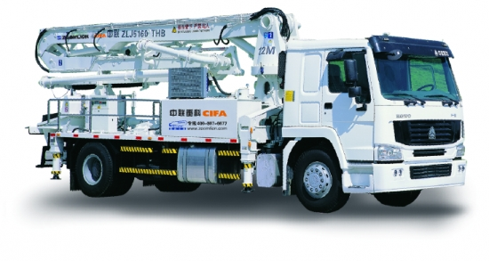 中联重科ZLJ5160THB 22H-3Z混凝土泵车