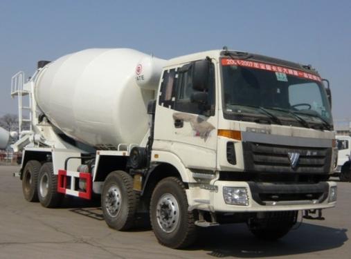 亚特重工TZ5313GJBBES8欧曼8*414立方混凝土搅拌运输