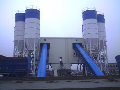 中建机械商业混凝土专用搅拌站120m3混凝土搅拌站