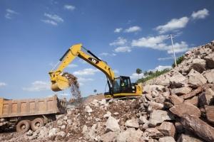 卡特彼勒323D2 L液压挖掘机