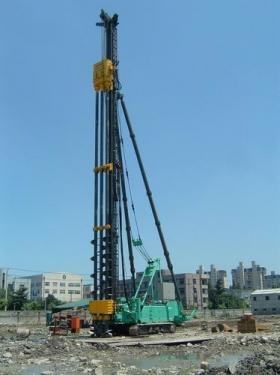 上工机械DH558-110M-3 、DH658-135M-3液压履带式三支点打桩架