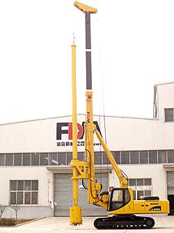 富岛机械CD856A全液压旋挖钻机