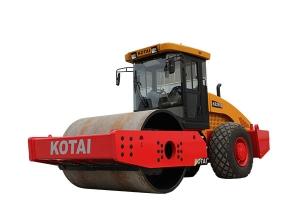 科泰重工KS255S全液压单钢轮振动压路机(单驱)