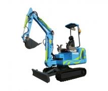 山河智能SWEROB电控智能挖掘机
