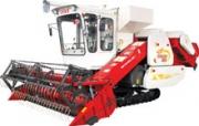 沃得农机巨龙新型履带式联合收割机