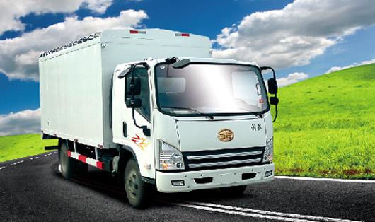 青岛解放虎V4×2大柴CA4DC2-10E3厢式车